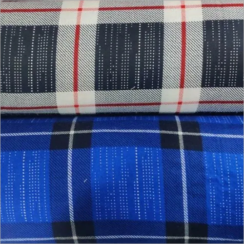 Checks Shirting Fabric