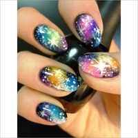 Three Beauties Nail Art High Resolution