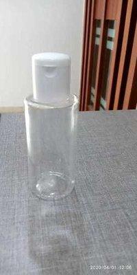 100 Ml Sanitizer Bottle With Flip Top Cap