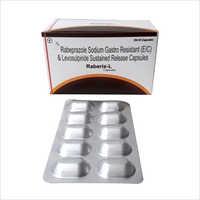 Rabeprazole Sodium Gastro Resistant And Levosulpiride Sustained Release Capsules