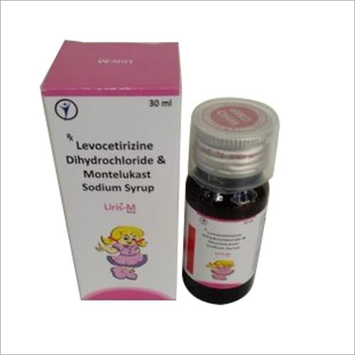 30 ml Levocetirizine Dihydrochloride And Montelukast Sodium Syrup