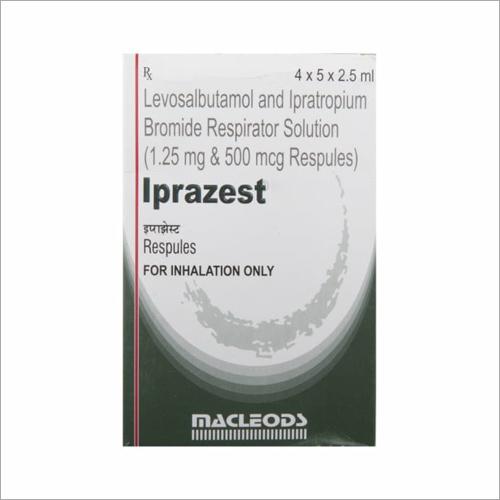 Levosalbutamol and Ipratropium Bromide Respirator Inhaler