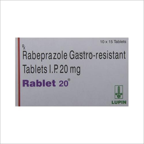 20 mg Rabeprazole Gastro Resistent Tablets IP