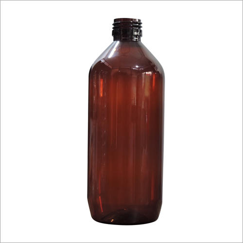 500 Ml Round Off Amber Bottle