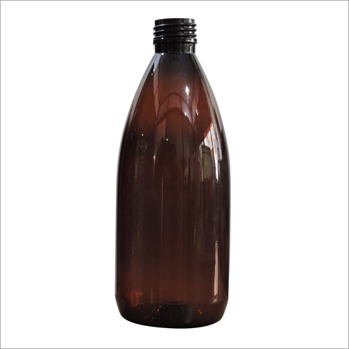 Amber Bottle To 500ml Dom