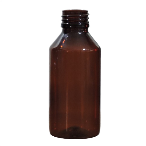 100 Ml Round Amber Bottle