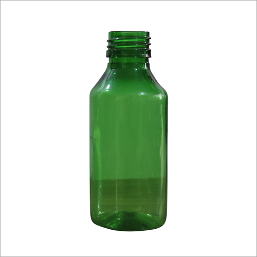 100 ml Round Green Bottle