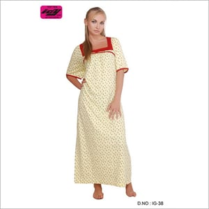 ICY Girls Knitted Cotton Gowns