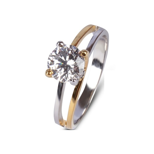 Silver Solitaire Rings