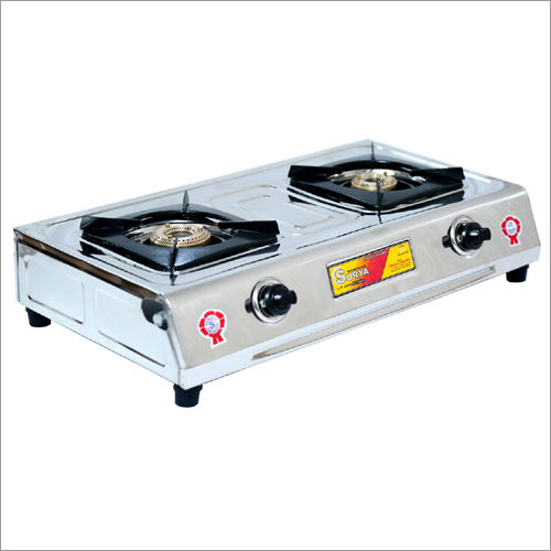 SS Double Burner Gas Stove