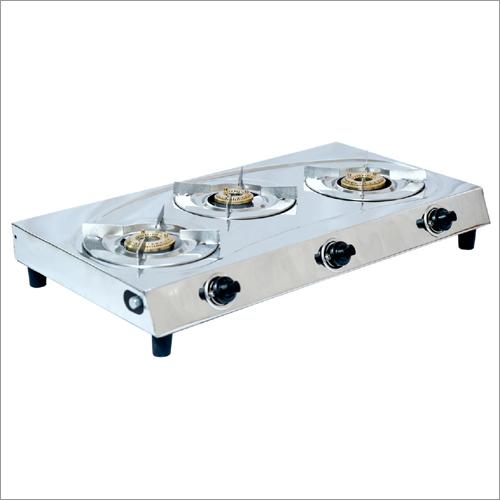 Three Burner Domestic Gas Stove