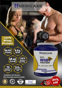 Hurricane 100% Whey Protein - Chocolate Flavour