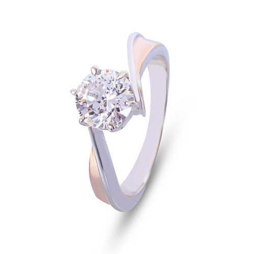 92.5 Silver Solitaire Rings