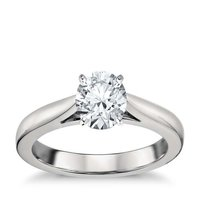 Sterling Silver 92.5 Solitaire Rings
