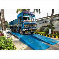 Electronic Track Weigh Bridge