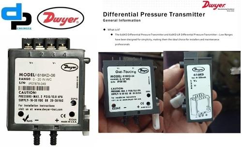 Dwyer 616KD-12-V Differential Pressure Transmitter