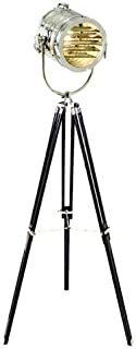 Nauticalmart Theater Nautical Search Light Home Decorative Floor Lamp Tripod