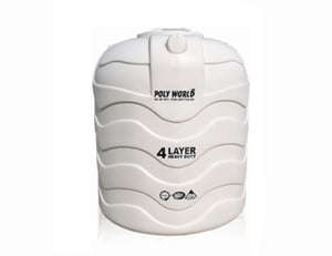 4 Layer Blow Moulded Water Storage Tank
