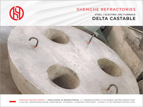 Delta Castable for EAF Roof