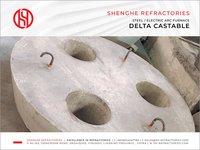Delta Castable for EAF Roof