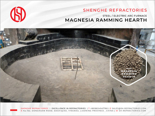 Magnesia Ramming Hearth