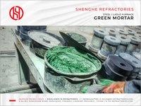 Corundum Mortar - Green Mortar