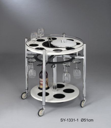 SY-1331-1  Wine Glass Trolley