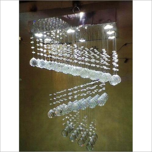 Cut Glass Chandelier