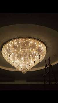 Round Crystal Chandeliers