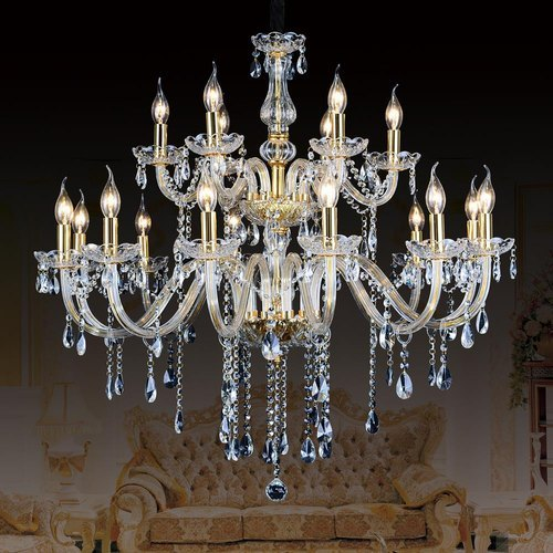 LED Double Heights Chandeliers