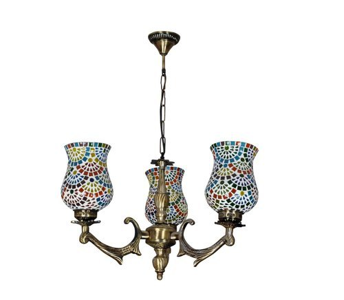 Antique Glass Lamp Shades