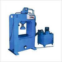 Hydraulic Camphor Slab Making Machine