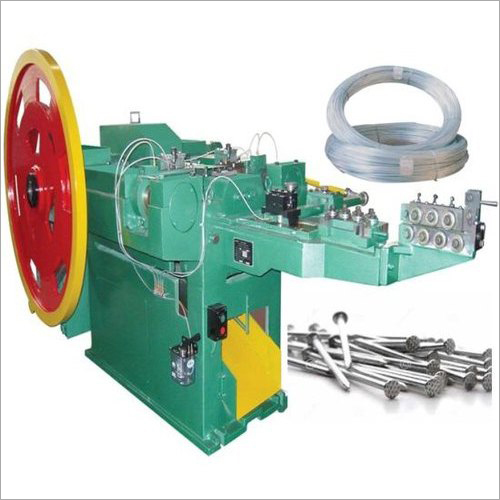 Semi-Automatic Wire Nail Making Machine