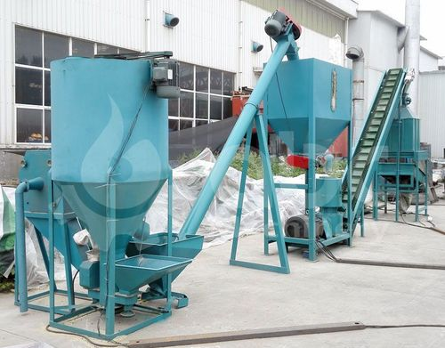 Industrial Poultry Feed Plant