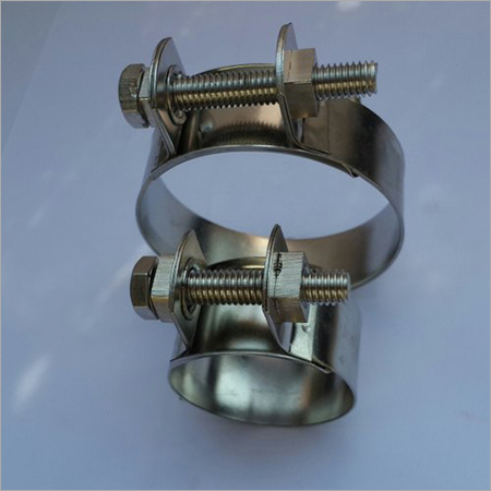 Galvanized Hose Clamp