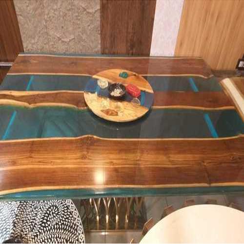WOOD EPOXY TABLE