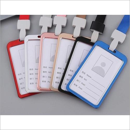 Aluminium Id Card Holder