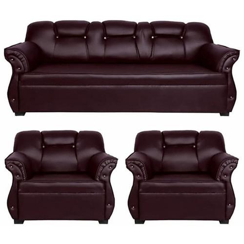 Classic Leather Sofa Set