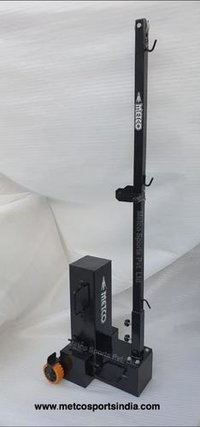 Badminton Pole Movable Black