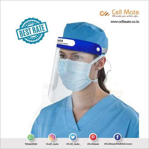 Cellmate Reusable Safety Protective Face Shield