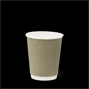 Detpak 8oz Smooth Double Wall Hot Paper Cup