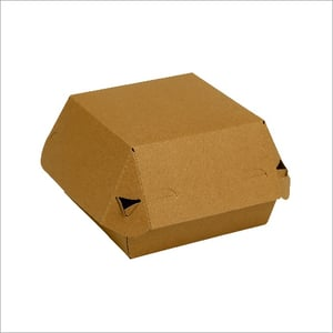 100% Recyclable Paper Burger Box