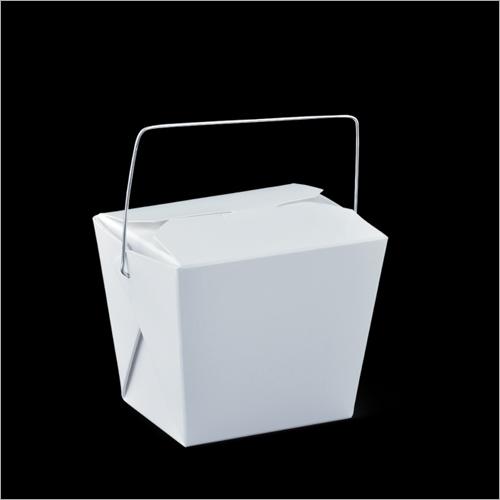 Detpak 8 oz Wire Handle Food Pail Box