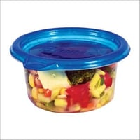 236 ml Plastic Round Container With Lid