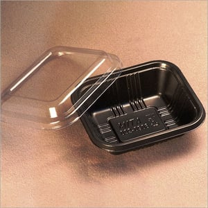 Plastic Food Container and Cover