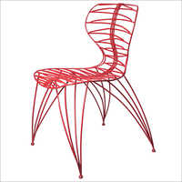 Decorative Iron Chair