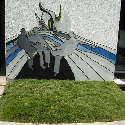 4 x 6 Foot Talking Iron and Board Murals