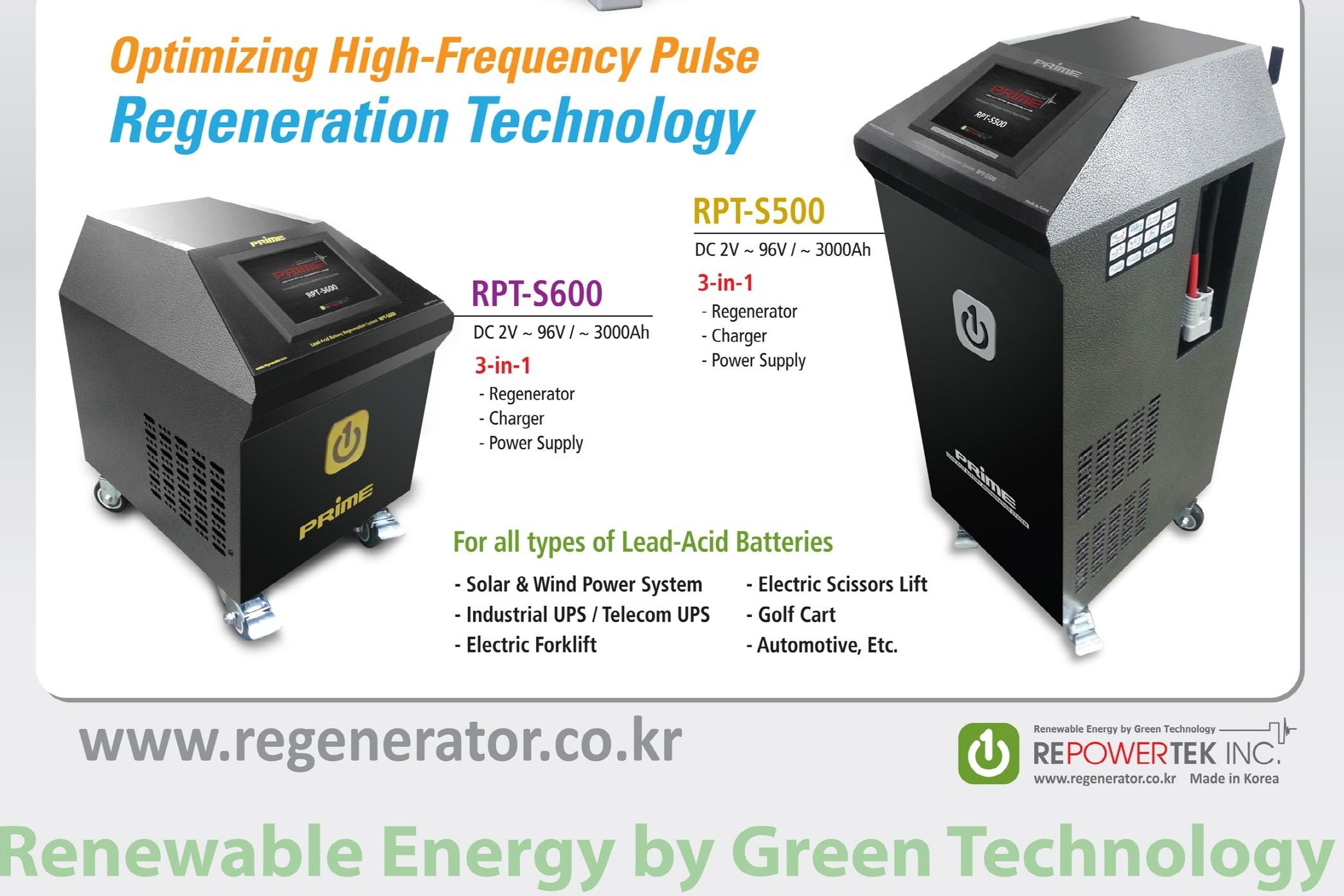 Battery Regenerator RPT-S600