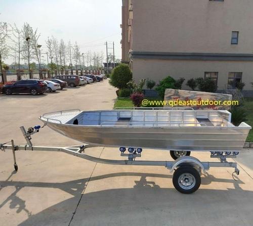 5.2m  simple & open type aluminum speed boat, jet boat