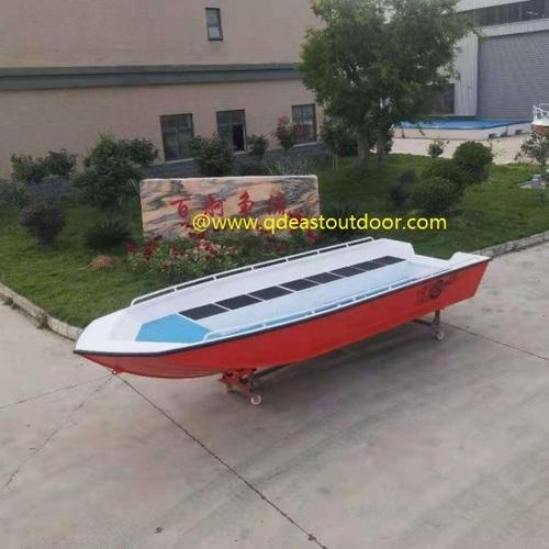Cheap Aluminum Welded Water Fishing Boat , speed boat 5.5m